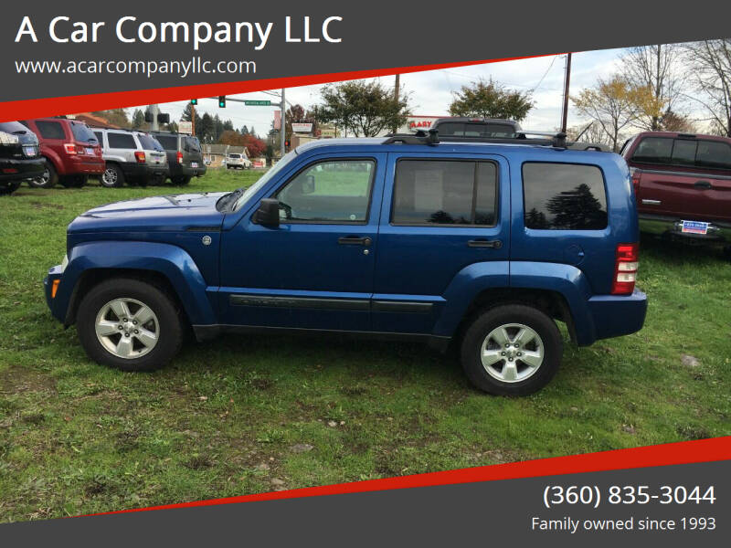 2010 Jeep Liberty for sale at A Car Company LLC in Washougal WA