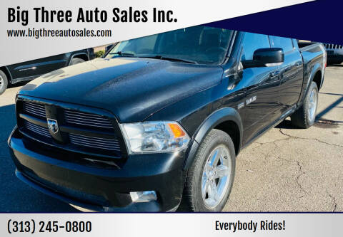 2010 Dodge Ram Pickup 1500 for sale at Big Three Auto Sales Inc. in Detroit MI