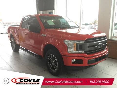 2018 Ford F-150 for sale at COYLE GM - COYLE NISSAN - Coyle Nissan in Clarksville IN