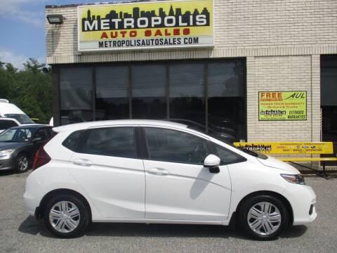 2019 Honda Fit for sale at Metropolis Auto Sales in Pelham NH