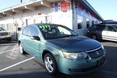 2006 Saturn Ion for sale at 777 Auto Sales and Service in Tacoma WA