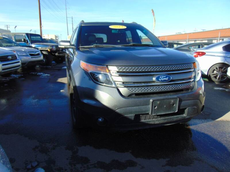 2013 Ford Explorer for sale at Avalanche Auto Sales in Denver CO