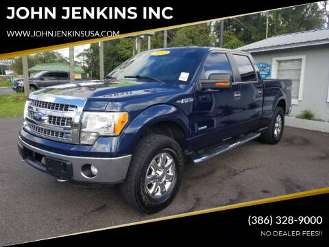 2013 Ford F-150 for sale at JOHN JENKINS INC in Palatka FL