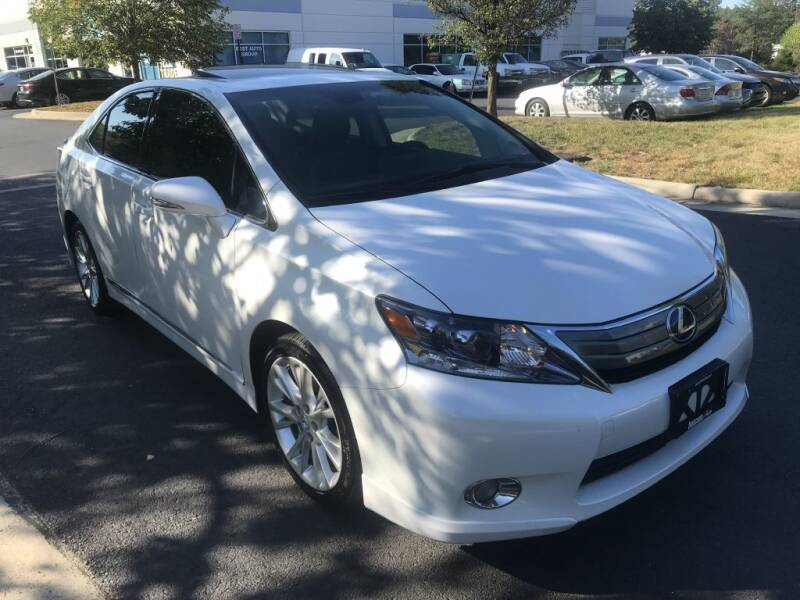 2010 Lexus HS 250h for sale at Dotcom Auto in Chantilly VA