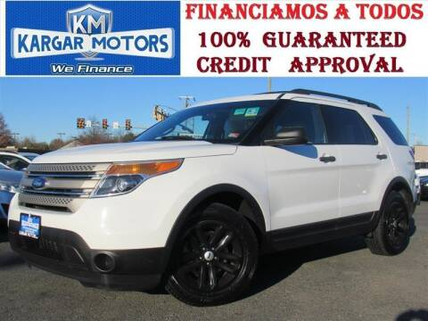 2015 Ford Explorer for sale at Kargar Motors of Manassas in Manassas VA