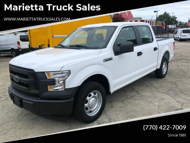 2017 Ford F-150 for sale at Marietta Truck Sales in Marietta GA