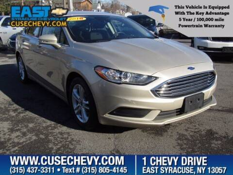 2018 Ford Fusion for sale at East Syracuse Performance Sales & Service in Syracuse NY