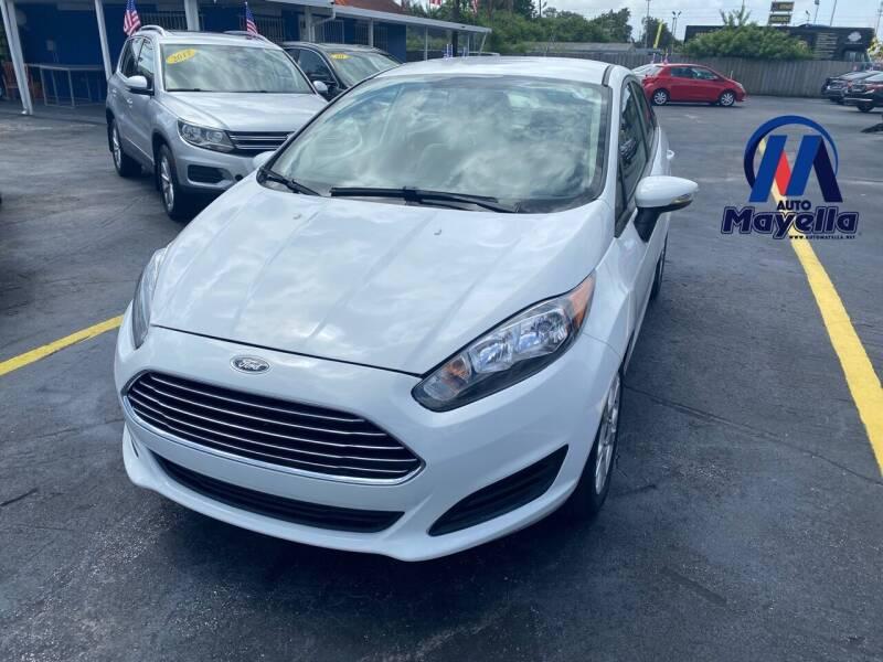 2016 Ford Fiesta for sale at Auto Mayella in Miami FL