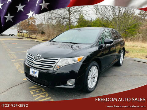 2011 Toyota Venza for sale at Freedom Auto Sales in Chantilly VA