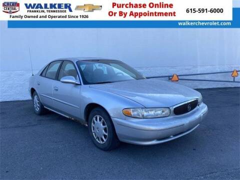 2003 Buick Century for sale at WALKER CHEVROLET in Franklin TN