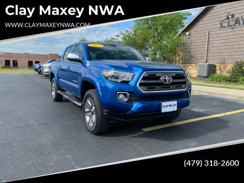 2017 Toyota Tacoma for sale at Clay Maxey NWA in Springdale AR