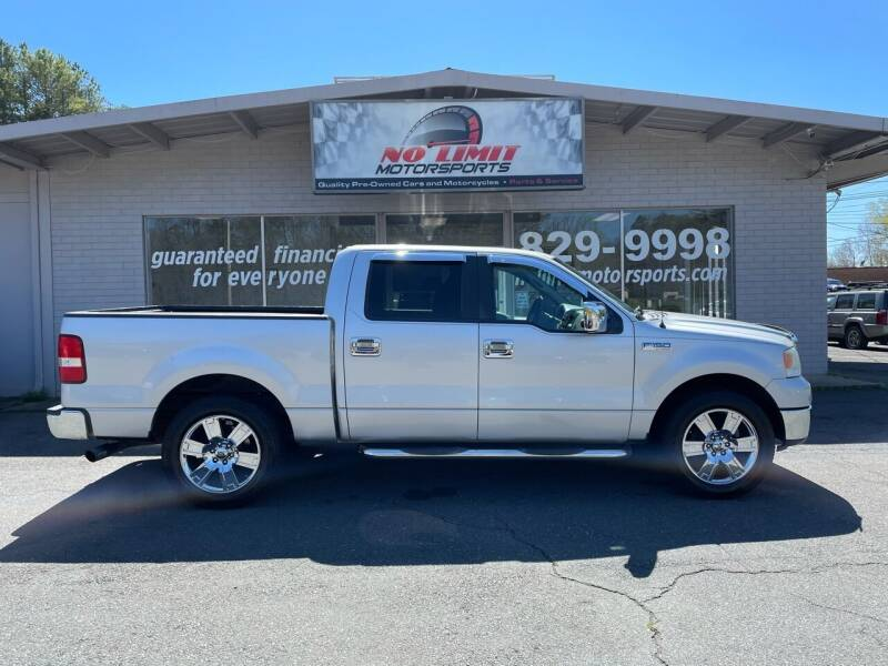 2008 Ford F-150 for sale at NO LIMIT MOTORSPORTS in Belmont NC