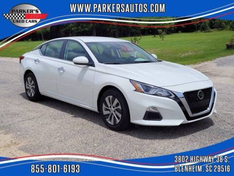 2020 Nissan Altima for sale at Parker's Used Cars in Blenheim SC