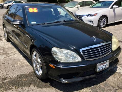 2006 Mercedes-Benz S-Class for sale at Eden Motor Group in Los Angeles CA