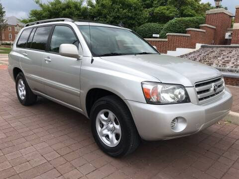 2007 Toyota Highlander for sale at Third Avenue Motors Inc. in Carmel IN