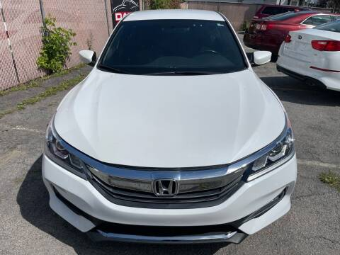 2017 Honda Accord for sale at DARS AUTO LLC in Schenectady NY