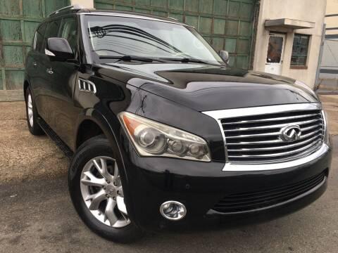 2012 Infiniti QX56 for sale at Illinois Auto Sales in Paterson NJ