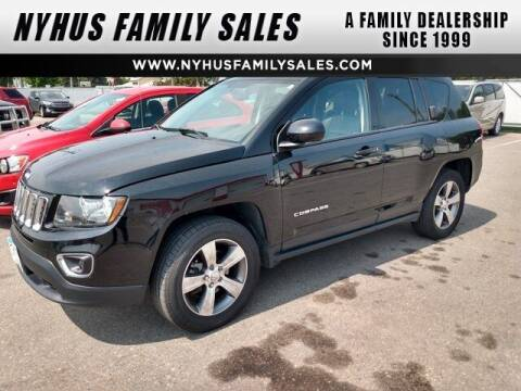 2017 Jeep Compass for sale at Nyhus Family Sales in Perham MN