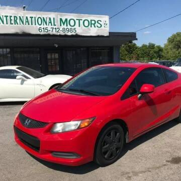 2012 Honda Civic for sale at International Motors Inc. in Nashville TN