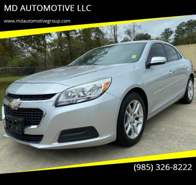 2014 Chevrolet Malibu for sale at MD AUTOMOTIVE LLC in Slidell LA