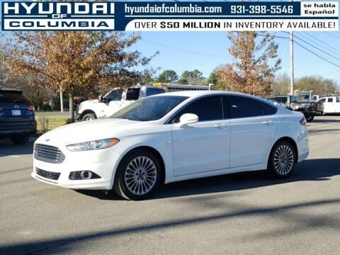 2015 Ford Fusion for sale at Hyundai of Columbia Con Alvaro in Columbia TN