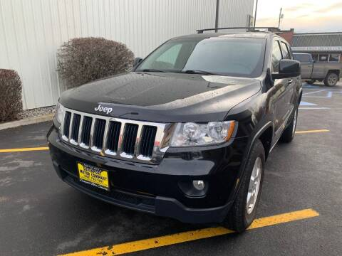 2012 Jeep Grand Cherokee for sale at DAVENPORT MOTOR COMPANY in Davenport WA