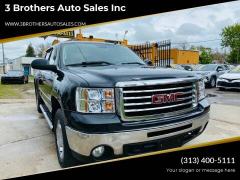 2010 GMC Sierra 1500 for sale at 3 Brothers Auto Sales Inc in Detroit MI