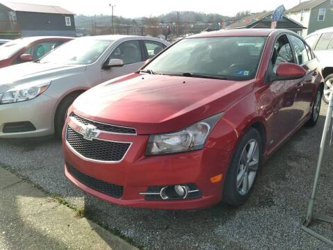 2014 Chevrolet Cruze for sale at Sissonville Used Cars in Charleston WV