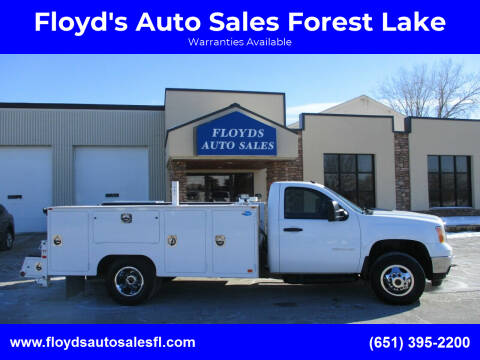 2011 GMC Sierra 3500HD for sale at Floyd's Auto Sales Forest Lake in Forest Lake MN