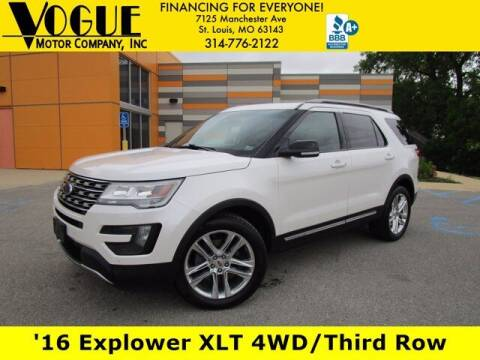 2016 Ford Explorer for sale at Vogue Motor Company Inc in Saint Louis MO
