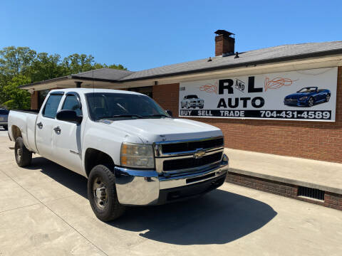 2007 Chevrolet Silverado 2500HD for sale at R & L Autos in Salisbury NC