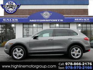 2014 Porsche Cayenne for sale at Highline Group Motorsports in Lowell MA