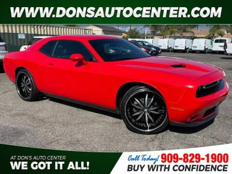 2016 Dodge Challenger for sale at Dons Auto Center in Fontana CA