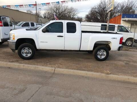 2012 Chevrolet Silverado 2500HD for sale at Ramsey Auto Sales in Wichita KS