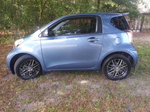 2012 Scion iQ for sale at Royal Auto Mart in Tampa FL