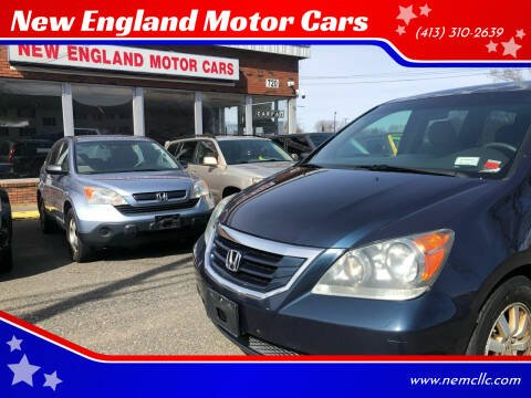 2009 Honda Odyssey for sale at New England Motor Cars in Springfield MA