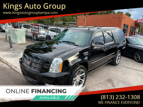 2013 Cadillac Escalade ESV for sale at Kings Auto Group in Tampa FL