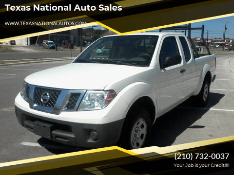 2014 Nissan Frontier for sale at Texas National Auto Sales in San Antonio TX