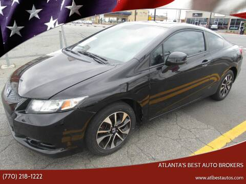 2013 Honda Civic for sale at Atlanta's Best Auto Brokers in Marietta GA