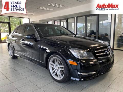 2014 Mercedes-Benz C-Class for sale at Auto Max in Hollywood FL