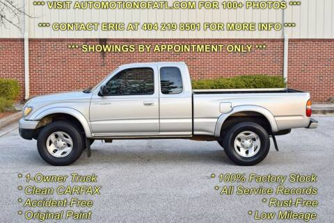2004 Toyota Tacoma for sale at Automotion Of Atlanta in Conyers GA