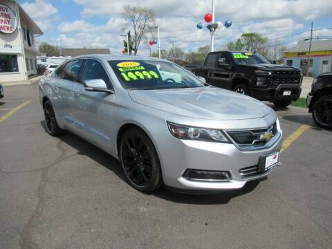 2015 Chevrolet Impala for sale at Auto Land Inc in Crest Hill IL