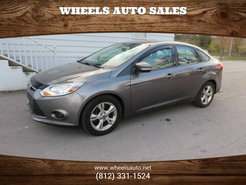 2013 Ford Focus for sale at Wheels Auto Sales in Bloomington IN