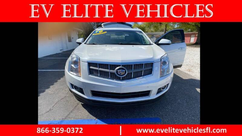2010 Cadillac SRX for sale at EV ELITE VEHICLES in Saint Petersburg FL