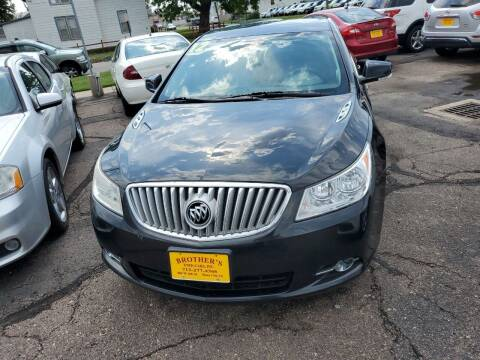 2012 Buick LaCrosse for sale at Brothers Used Cars Inc in Sioux City IA