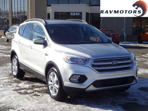2019 Ford Escape for sale at RAVMOTORS 2 in Crystal MN