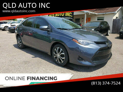 2017 Toyota Corolla for sale at QLD AUTO INC in Tampa FL