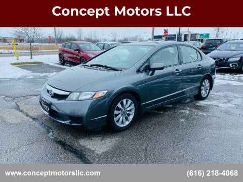 2010 Honda Civic for sale at Concept Motors LLC in Holland MI