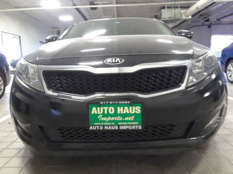 2013 Kia Optima for sale at Auto Haus Imports in Grand Prairie TX