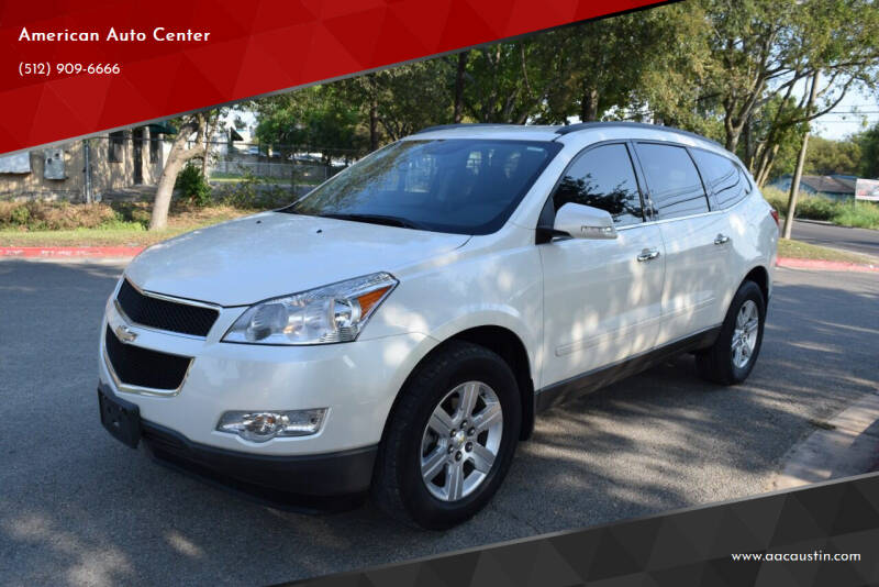 2012 Chevrolet Traverse for sale at American Auto Center in Austin TX